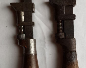 2 A. G. Coes vintage wrenches - Worcester, Mass. A Nice Valentines Day Gift.