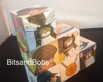 Mog the forgetful cat nursery blocks