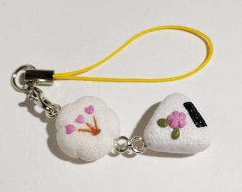 Sakura blossom Sushi Duo strap