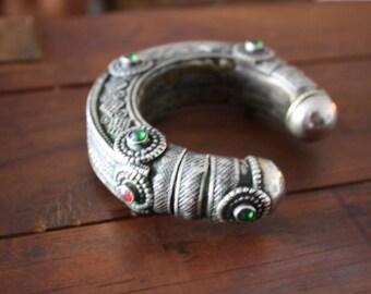 Afghan Kuchi Bracelet Vintage Armband Bohemian Boho Bangle Bracelet Gypsy Belly Dance Bracelet