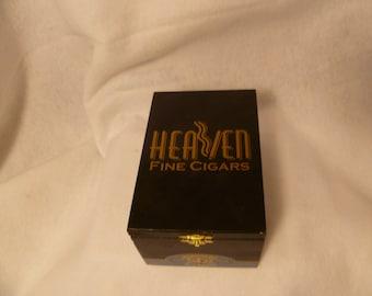EMPTY CIGAR BOX - Heaven Fine Cigars Corona