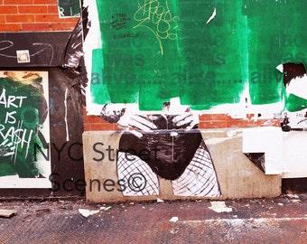 NYC Graffiti - Art Trash - New York Street Art©
