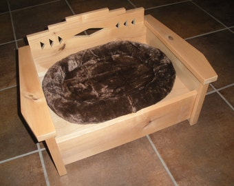 Pet Bed, Dog Bed, Cat Bed, Southwestern Furniture, Pet Chair, Small Dog Bed, Pet Furniture