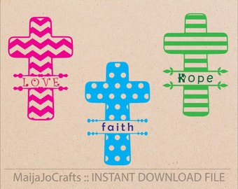 Cross SVG file, Christian svg Cricut cutting file DXF, Printable PNG Clipart instant download Silhouette cameo designs, Cricut Designs