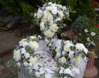 Scottish   Waterfall Bouquet Set
