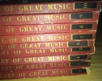 Philharmonic Family Library of Great Music 9 LP's