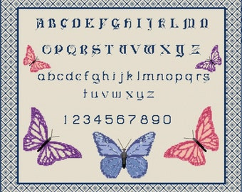 Butterfly Sampler Cross Stitch Kit