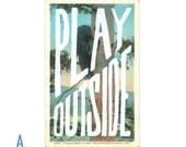 Play Outside Postcards
