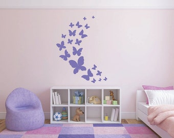 Wall Butterflies decal