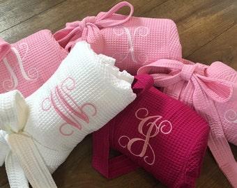 SALE! Bridesmaid Robes WITH MONOGRAM!!