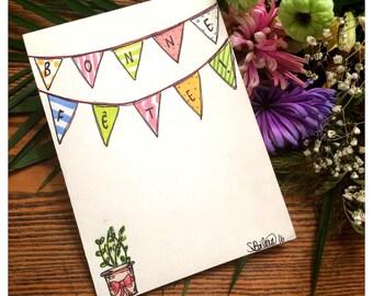 Day card - Bohemian banners 1