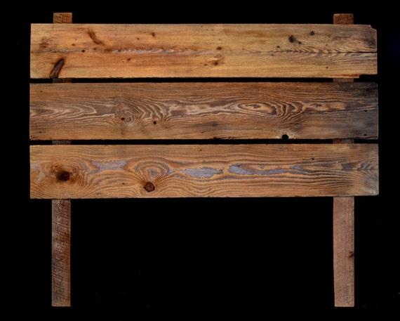 100 year old reclaimed barn wood queen size bed headboard. Black Bedroom Furniture Sets. Home Design Ideas