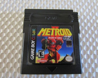 Metroid II DX Game Boy Color - Full Color