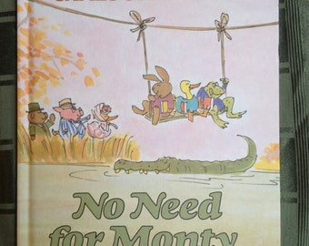 No Need for Monty (Vintage) children's book