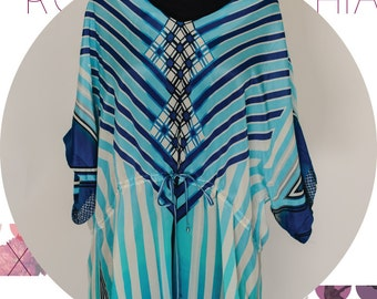 Robert Graham Silk tunic and swimsuit cover up