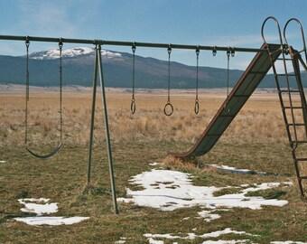 """Prairie Playground I 5x7"""" Photo Print"""