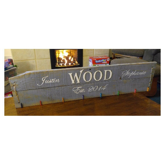 shop ~ Unique  Sign Plaque Name sign Gift Wedding rustic jones Rustic for Family Wall ~