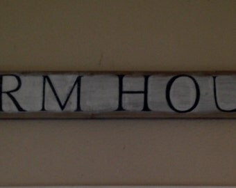 Hand Painted Farm House sign