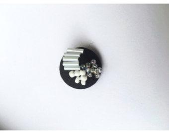 Medium Beaded Button