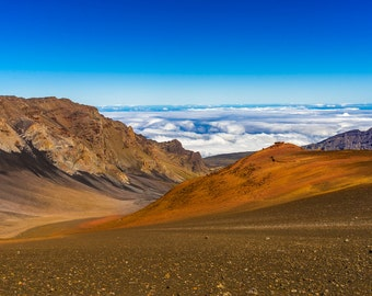 Maui, HI  Haleakala Crater