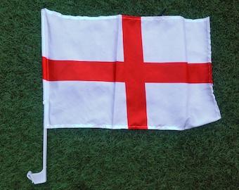 England Car Window Flag