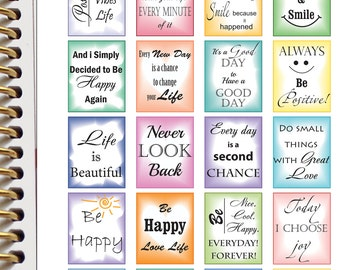 Inspirational Planner Stickers Quote Stickers Planner Printable Planner Stickers Download Planner Stickers (nb11)