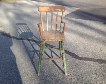 Antique 1800's child chair