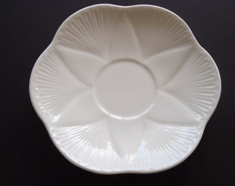 Shelley Dainty White Regency Saucer ~ No Cup