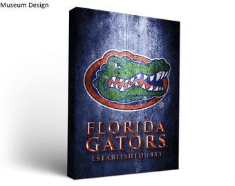 Florida UF Gators Canvas Wall Art