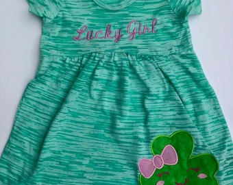 St Patrick Day Dress Shamrock
