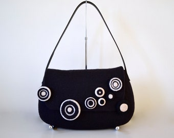 black shoulder bag *