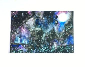 """Totoro 4""""x6"""" Digital Print"""