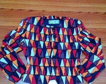 Yves saint Laurent jacket pop art vintage