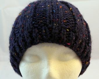 tweed Shetland wool hat