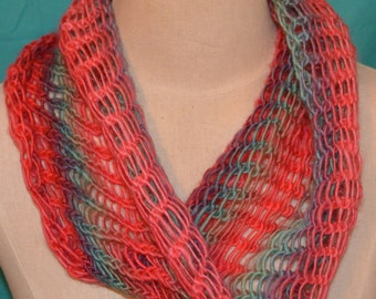 lightweight cowl-neck scarves