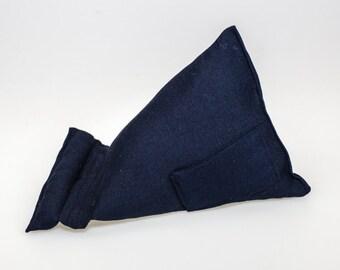 Dark Blue Fabric (Large) Tablet - Kindle - Ipad - Mobile  Stand