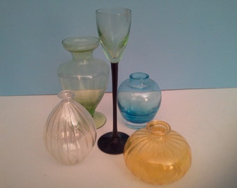 Colors and shapes in glass