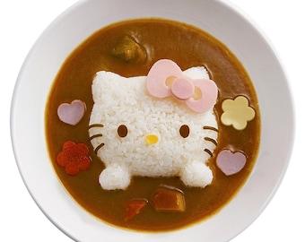 Hello Kitty / Snoopy Rice Mold  - Bento Deco Rice