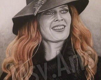 Zelena/Wicked witch original drawing