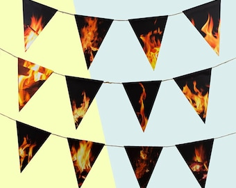 The Roof is on Fire Garland / Banner / Bunting