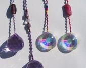 4 x Feng Shui Crystals by D.G.Gotart
