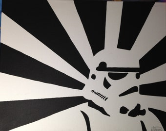 Star Wars Stormtrooper Painting