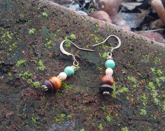 The Colors of Earth Earrings