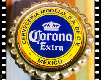 Corona Extra Mexico Beer Name ID Reel Holder Badge Pull