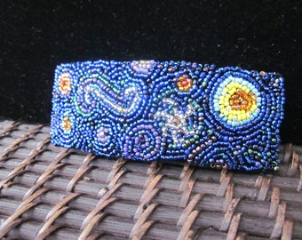 Starry Night Barrette