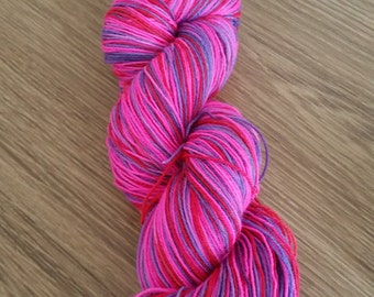4 Ply Merino/Nylon Hand Dyed Yarn