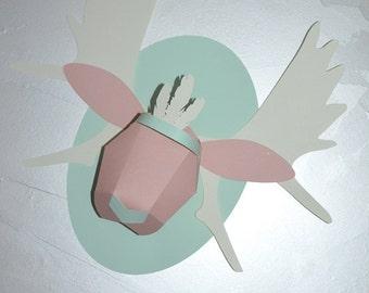 trophy Elk origami paper