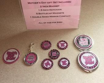 Animal Print Mother's Day Gift Set