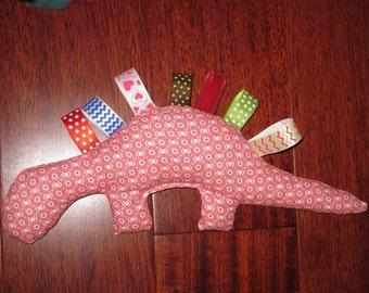 Tagged Dinosaur Stuffed Animal