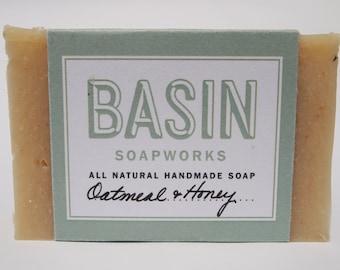 Honey and Oatmeal Handmade Soap